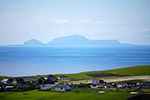 Ireland with the Isle of Foula in the distance